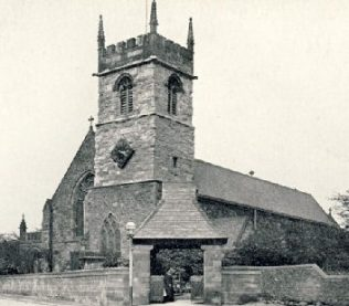 All Saints West Bromwich - Francis Asbury's first efforts as Band and Class leader