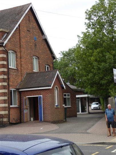 Birmingham, Boldmere, Methodist Chapel, north side, 18.07.2018   G W Oxley