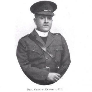 George Kendall OBE 1915