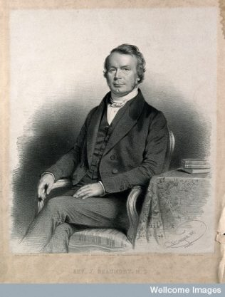 Joseph Beaumont. Lithograph by C Baugniet, 1847. | Wellcome Library, London (Creative Commons Attribution)