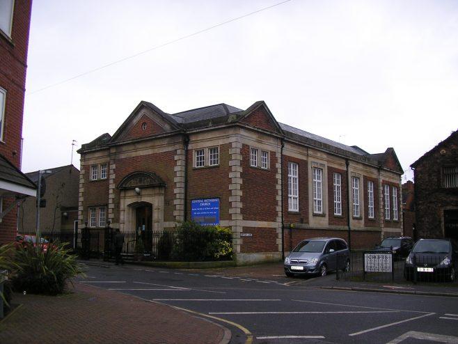 Ketterin,g School Lane, Methodist Chapel, genral view, 31.03.2018   G W Oxley