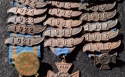 JMC DSO medals and bars