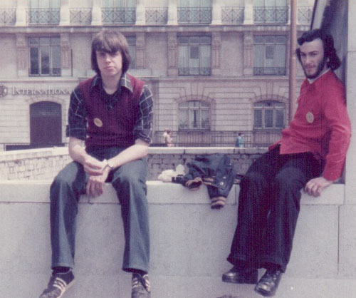 Two of the youth 'squash' taking a rest | Gareth + Joy Hill