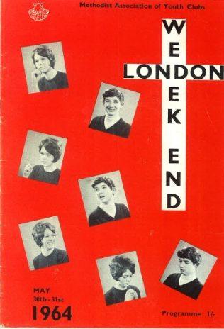London Weekend Programme - Front Cover | Chris Hancock