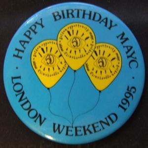 MAYC LWE Badge 1995 | Chris Hancock
