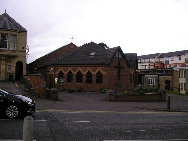 Methodist Church Centre, Market Harborough, the 1992 building, 2.8.2017 | G W Oxley