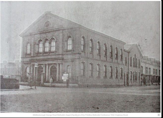 Middlesbrough Grange Road United Methodist chapel | 1932 Primitive Methodist Conference Handbook; Englesea Brook collection