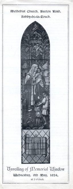 Window in memory of Nancy Bell
