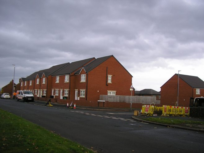 New housing on the site of Morton Chapel, 2016 | G W Oxley
