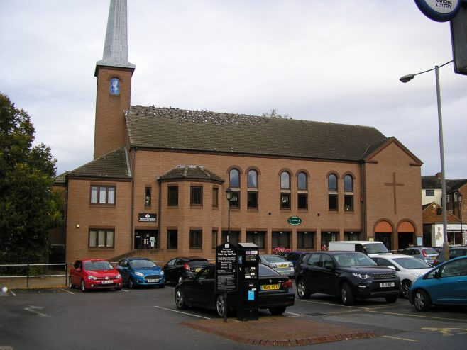 Stafford Methodist Church, Staffordshire (ii), 12.10.2016 | G W Oxley
