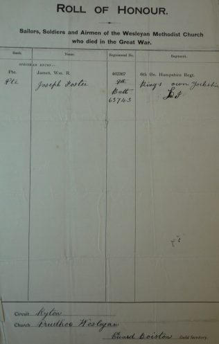 Prudhoe. Methodist Archive and Research Centre (reference MA 8030 item 140)   Trustees for Methodist Church Purposes, 2018