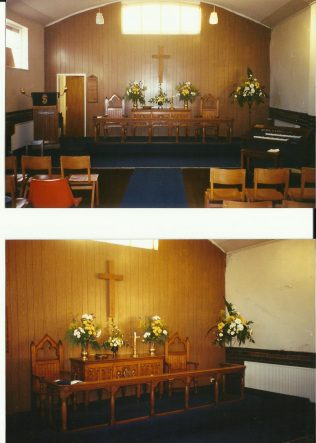 Interior of Parkview Methodist Church