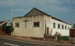 Parkview Methodist Church, old Sunday School building converted into a small chapel
