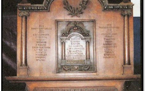 BRIEF HISTORY OF ST. THOMAS' ROAD METHODIST CHURCH DERBY