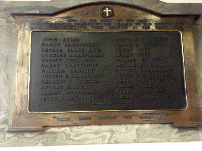 Burley World War I | click to enlarge