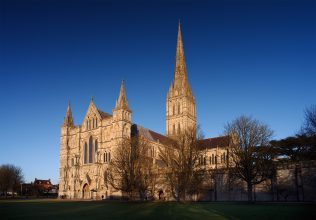 Salisbury Cathedral - Viewed by Francis Asbury when stationed on Wiltshire Circuit