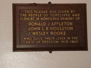 Topcliffe Methodist Church