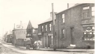 Tyne Street, Blaydon. Chapel shown middle right | Winlaton History Society