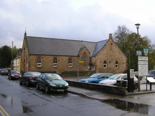 UMFC Chapel, Chapel Street, Appleby, Westmorland, Side view from north,  27.10.2013 | G W Oxley