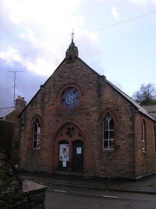 UMFC Chapel, Chapel Street, Appleby, Westmorland, facade,  27.10.2013   G W Oxley
