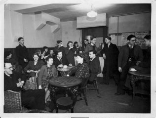 Wartime in the Old Mahogany Bar | Patricia Collins