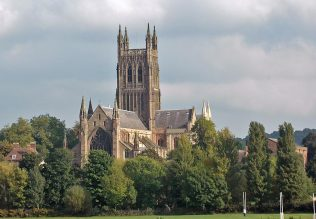 Worcester Cathedral -  Viewed by Francis Asbury when stationed on Low Round of Stafford Circuit