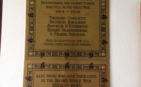 Southville Methodist Church War Memorials